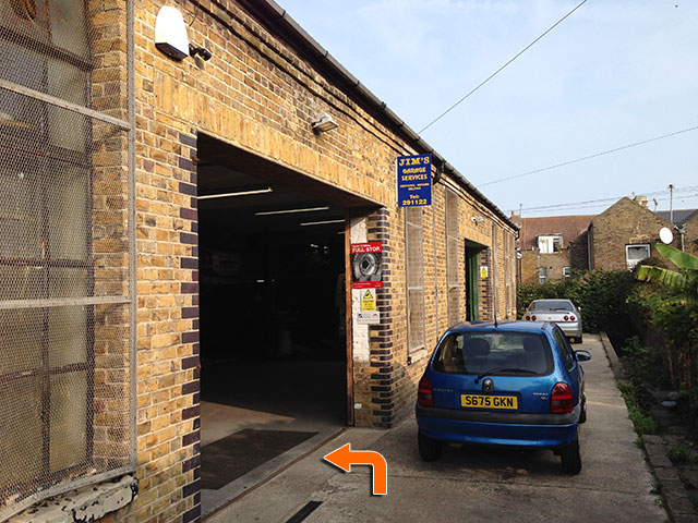 Jims Garage Services Unit 6, Rear of 42-64 Ethelbert Road, Cliftonville, Margate, Kent, CT9 1SB